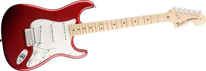 American Special Stratocaster - Candy Apple Red