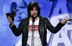Jeff Beck Receives Grammy Award at 53rd Annual Grammy's